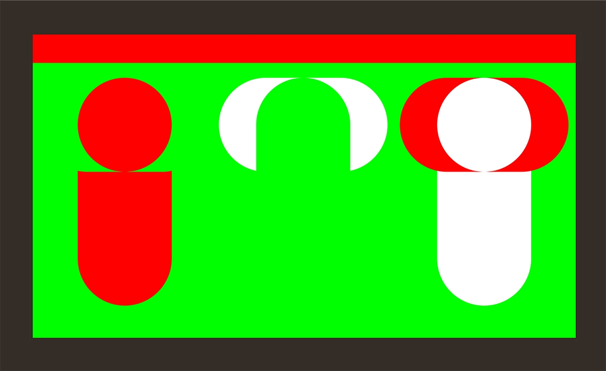 Green-Red / Red-Green